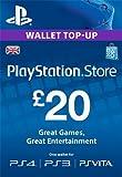 PSN CARD 20 GBP WALLET TOP UP [PS4, PS3, PS Vita PSN Code - UK account]