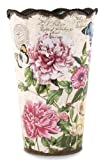 Michel Design Works Flower Tin, Large, Peony