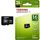 EMemoryCards - 16GB / 16GIG Ultra Fast Micro SD SDHC Memory Card For Samsung ST200F Camera - 30MB/Sec Class 10 Xray & Water Proof