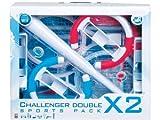 echange, troc Ensemble d'accessoires par paire pour Wii (rouge et bleu)