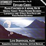 Piano Concerto in a Minor Op. 16 (Hirokami, Norrkoping So) Edvard Grieg