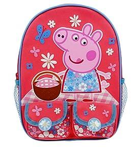 Peppa Pig Tropical Paradise Twin Pocket Backpack