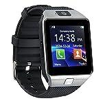 Bluetooth 3.0 smartwatch Uhr mit Kamera, TF / SIM-Karten slot Armband Smartwatch handy-Uhr mit Pedometer Anti-verlorene Funktion für Samsung, HTC, LG, Sony, HuaWei Android Smartphones und IOS (Teilfunktion)