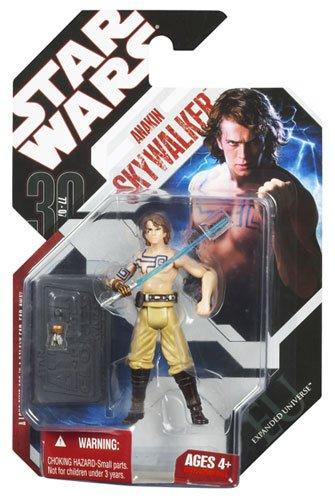 Star Wars Saga 2008 30th Anniversary Wave 1 Action Figure Anakin Skywalker with Tattoos