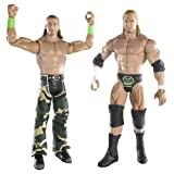 wwe d generation x supreme team triple h shawn michaels 2 pack series - Triple H Halloween Costume