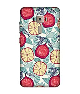 small candy 3d Printed Back Cover For Asus Zenfone 3 ZE552KL -multicolor pattern