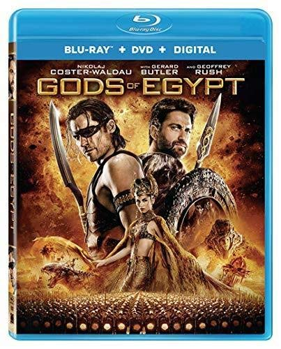 Blu-ray : Gods Of Egypt (With DVD, Widescreen, Digital Theater System, 2 Pack, AC-3)