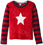 Hartstrings Big Girls' Novelty Yarn Star Sweater