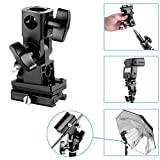 NEEWER® Flash Hot-Shoe Slave Umbrella Holder Swivel Light Stand Bracket B Type