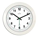 Acctim 93/723rc Milan Radio Controlled Wall Clock, Whiteby Acctim