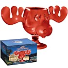 ICUP National Lampoons Christmas Vacation Griswold Red Glass Moose Mug with Closed Packaging