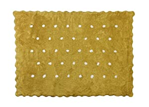 Aratextil. Alfombra Infantil 100% Algodón lavable en lavadora Colección Topitos Mostaza 120x160 cms marca Aratextil Hogar 26 S.L. en Bebe Hogar
