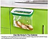 Haobase最高の価格色ランダム ぶら下げ ゴミ箱ごみ袋ホルダー ごみ ラック食器棚キャビネット収納ハンガー 21.5 × 12.2 × 3.3 センチ