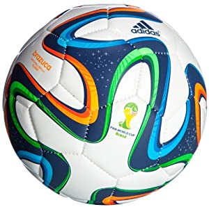 Official Adidas World Cup Brazuca Brazil 2014 Football (Glider)