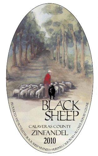 2010 Black Sheep Winery Calaveras County Zinfandel 750 Ml