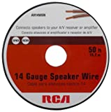 Rca AH1450SR 14-Gauge Speaker Wire (50 feet)