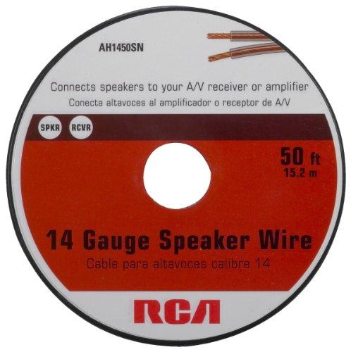 Rca Ah1450Sr 14-Gauge Speaker Wire (50 Feet)
