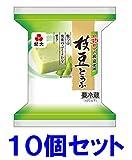 紀文 粒つぶ 枝豆とうふ ピロー 10個セット クール便発送 【キャンセル、返品不可】