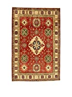 Eden Carpets Alfombra Uzebekistan Rojo/Multicolor 295 x 196 cm