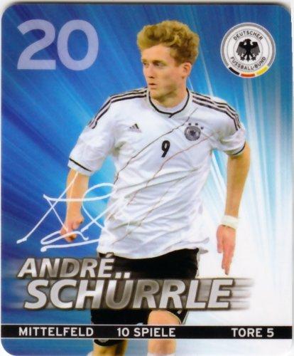 REWE DFB 2012 Sammelkarte - Nr. 20 Andre Schürrle - NEU