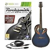 Rocksmith 2014 Xbox 360 turno chitarra elettro acustica di nuovo blu