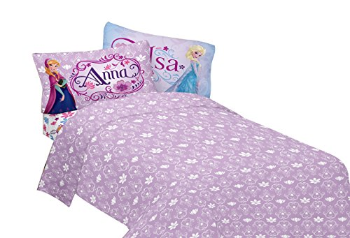 Disney Frozen Celebrate Love Sheet Set, Full (Girls Sheets Full compare prices)