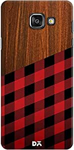 DailyObjects Wooden Lumberjack Case For Samsung Galaxy A7 2016 Edition