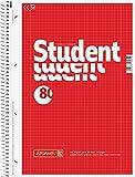 10 Brunnen Collegeblöcke Student A4 Lineatur 28 kariert