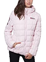 Geographical Norway Abrigo Corto Dana (Rosa)