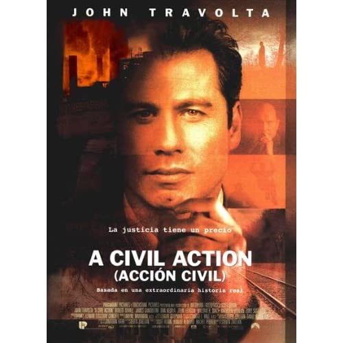 an analysis of the movie civil action A civil action (1998) jan schlichtmann (john travolta) is a lawyer who takes on the case of a town that has a higher than usual level of leukemia cases.