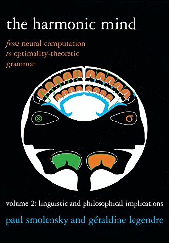 The Harmonic Mind: From Neural Computation To Optimality-Theoretic Grammar Volume Ii: Linguistic And Philosophical Implications (Bradford Books) (Volume 2)
