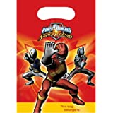 Power Rangers Party Bags (Pack Of 6)