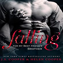 Falling for My Best Friend's Brother (       UNABRIDGED) by J. S. Cooper, Helen Cooper Narrated by C. J. Bloom