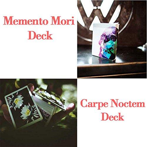 Carte Memento Mori + Carpe Noctem