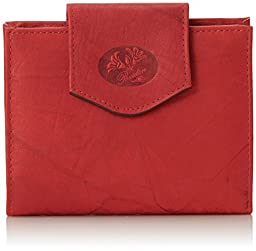 Buxton Heiress Cardex Wallet, Red, One Size
