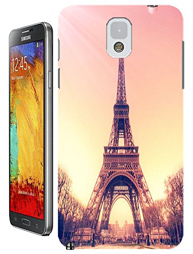 Beautiful Eiffel Tower Paris Fashion Cell Phone Cases Design For Samsung Galaxy Note 3 No.6 front-64858