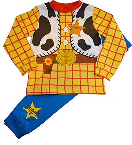 garcons-disney-toy-story-woody-deguisement-fantaisie-pyjama-ensemble-multi-5-6-ans