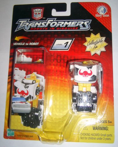 Ironhide Transformers Tiny Tin Rid R.I.D. Robots In Disguise 2003
