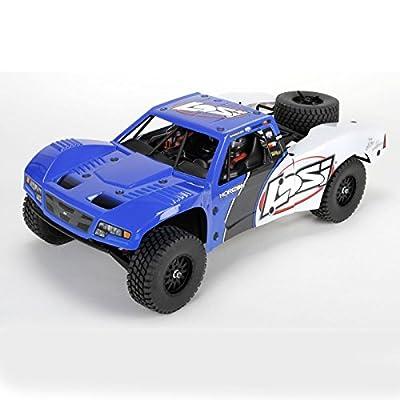 Team Losi Baja Rey:1/10-Scale AVC RTR 4WD Trophy Truck(Blue)