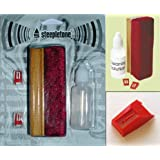 Stylus Needles & Record Cleaning Pack - Fits Steepletone Record Turntables including: 2055/2055D, 3155DR, Cambridge, Canterbury, Chichester, Columbus, E516 (Carlisle & Truro Encode), Hereford, Memphis, Norwich*, Oxford, Phono 1, Retro USB, Sailsbury, SMC6a, SMC7r, SMC99r, SMC386, SRP1r 09, SRP1r 11, Stratford, ST918, ST926, ST929r, Rockette, Roxy 1*, Roxy 2*, Roxy 3*, Windsor, York (*USB & Non USB models)