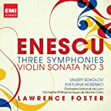 ENESCU: THREE SYMPHONIES...