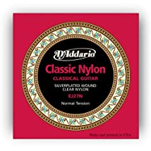D'Addario EJ27N Student Nylon Classical Guitar Strings Normal Tension