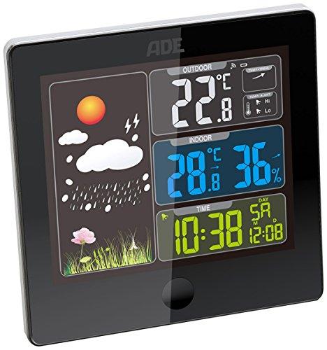Wetterstation WS 1403 mit Funk-Außensensor (schwarz)