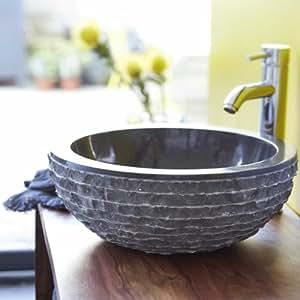 Vasque en marbre Scrula Bamoro Tikamoon
