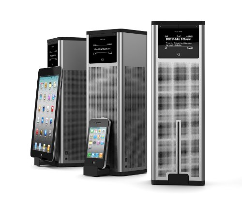 Revo K2 Multi Format Tower Radio with Wireless Audio Streaming and Docking for iPod Black Friday & Cyber Monday 2014