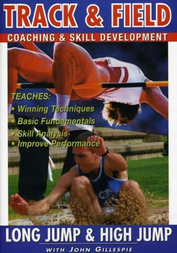 Track And Field Coaching And Skill Development Vol.5 - Long Jump And High Jump [DVD]