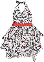 Kate Mack Girl39s 2-6X Bateau L39Amour Dress - WhiteBlue