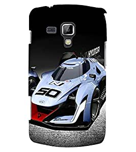 PRINTSWAG CAR Designer Back Cover Case for SAMSUNG GALAXY S DUOS S7562