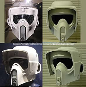 Amazon.com: Star Wars - Biker Scout Trooper - Helmet Kit