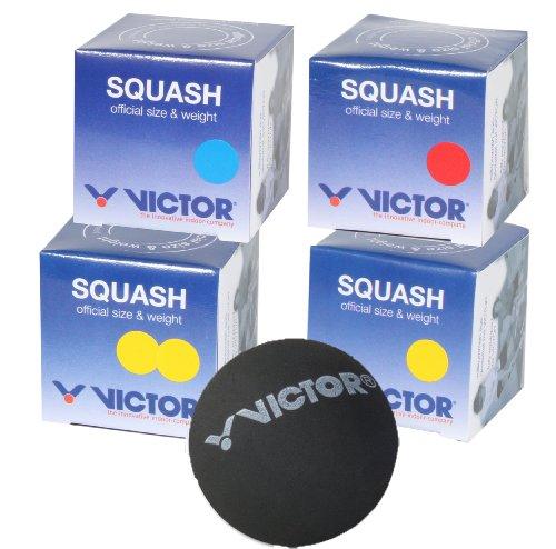 Victor Squashbälle 1x, 3x, 6x, 12x schnell , langsam , medium & sehr schnell II